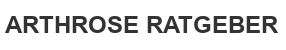 Arthrose Ratgeber Logo